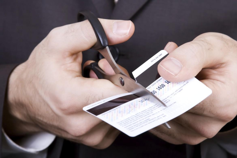 Разрезание кредитки