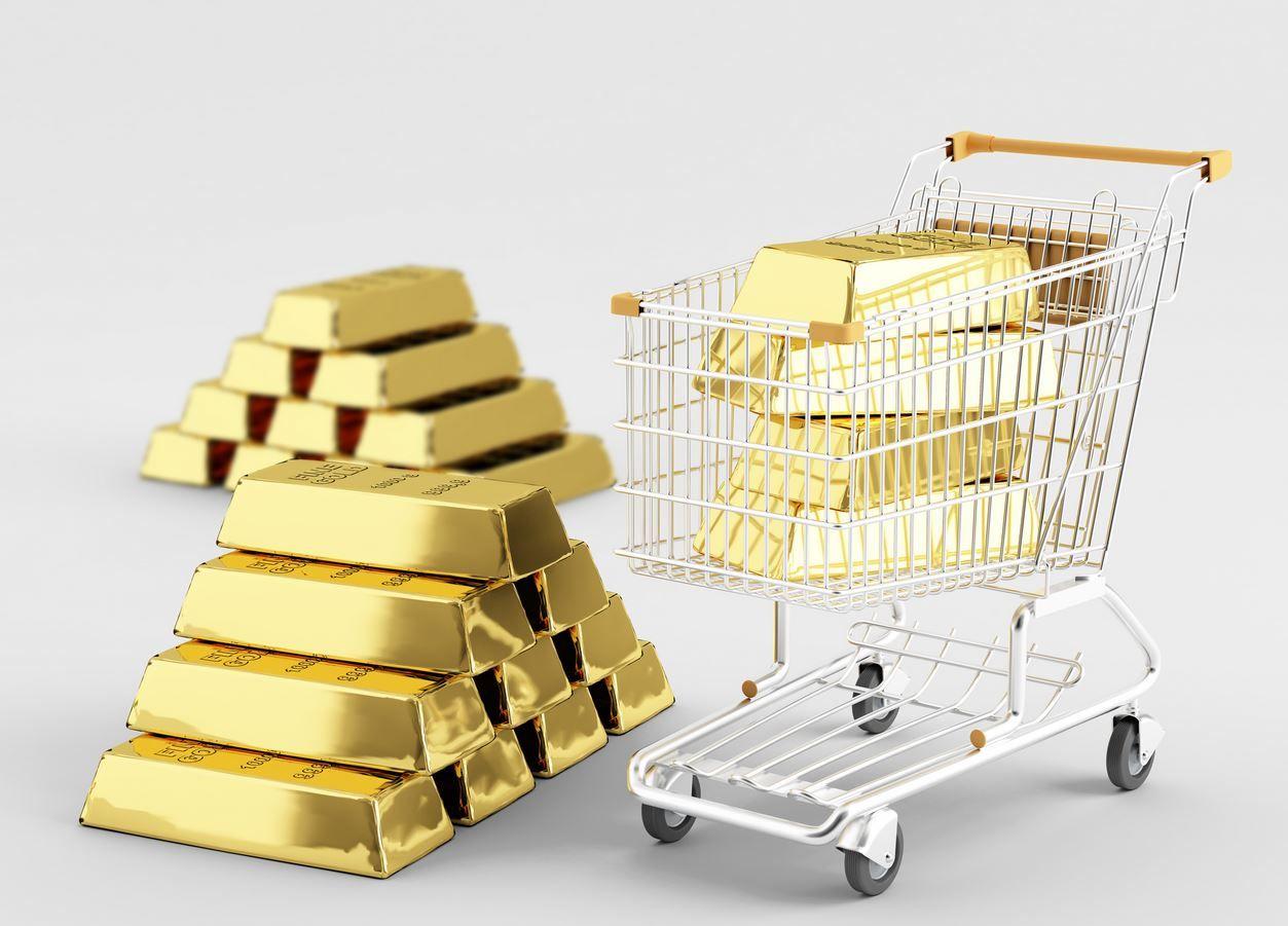 Корзина с золотом
