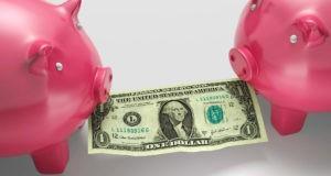 Копилки с деньгами