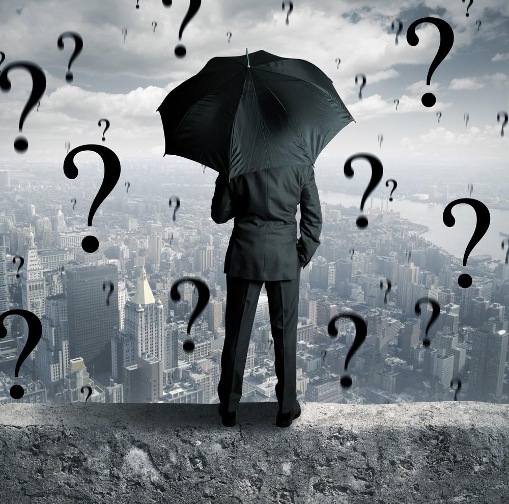 Дождь из вопросительных знаков