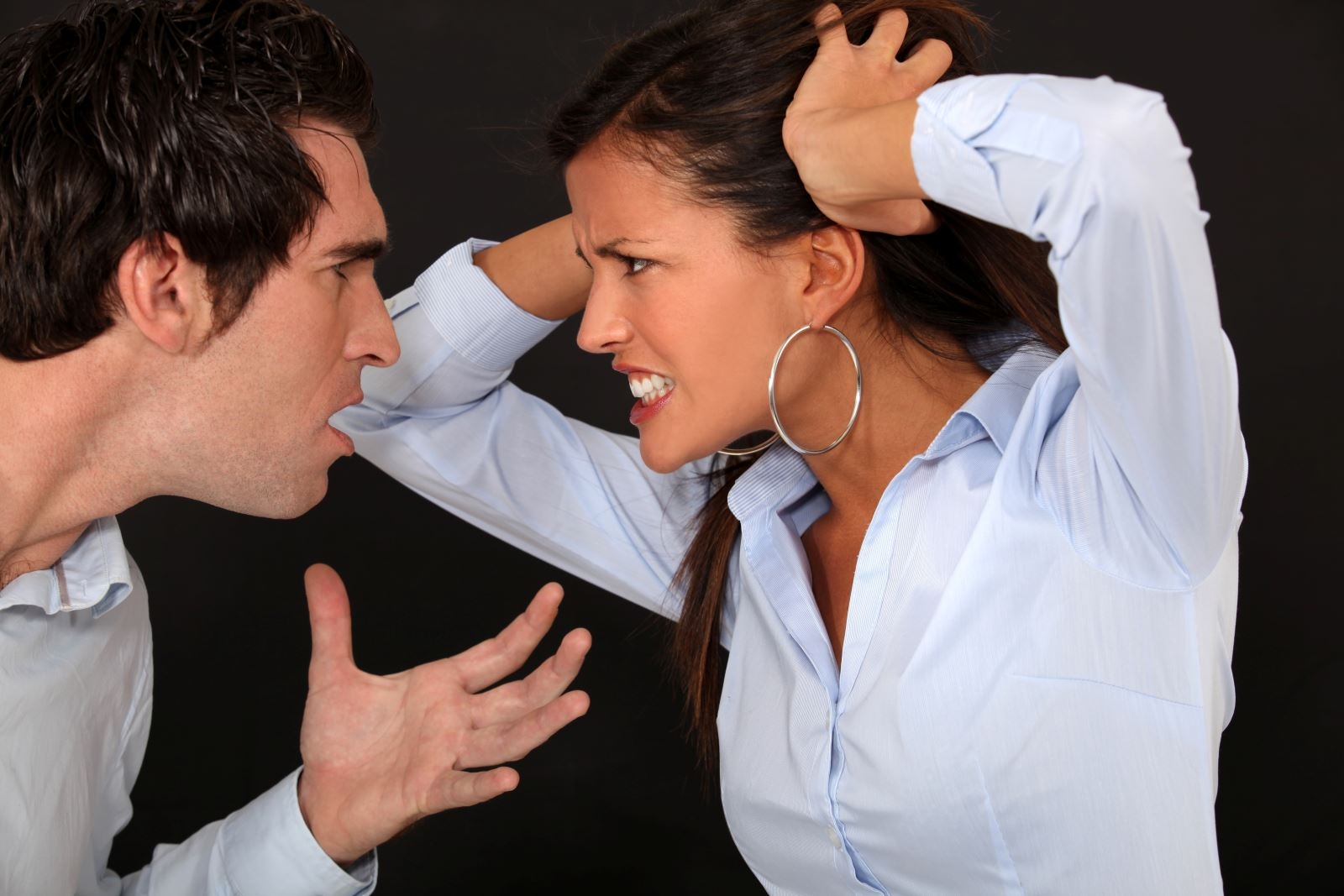 Спор женщины и мужчины