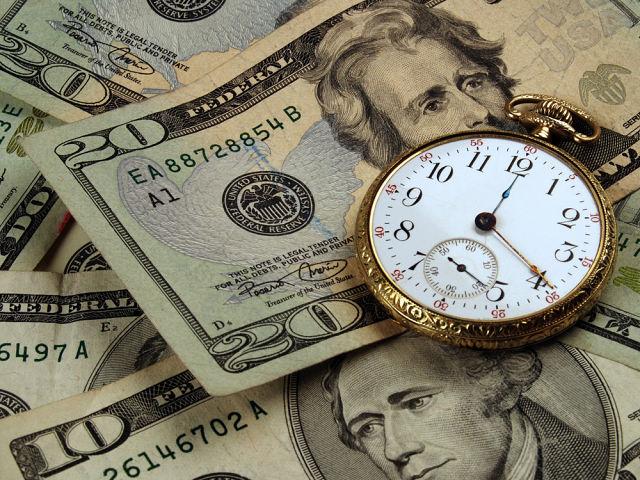 Сенкундомер, доллары