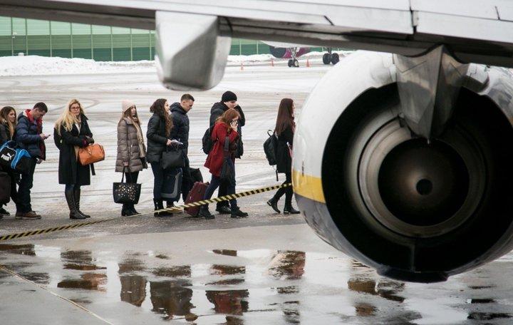 Пасадка в самолет