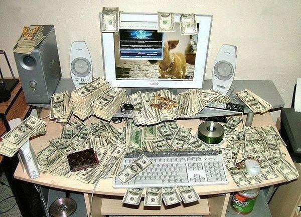 Компьютер,деньги
