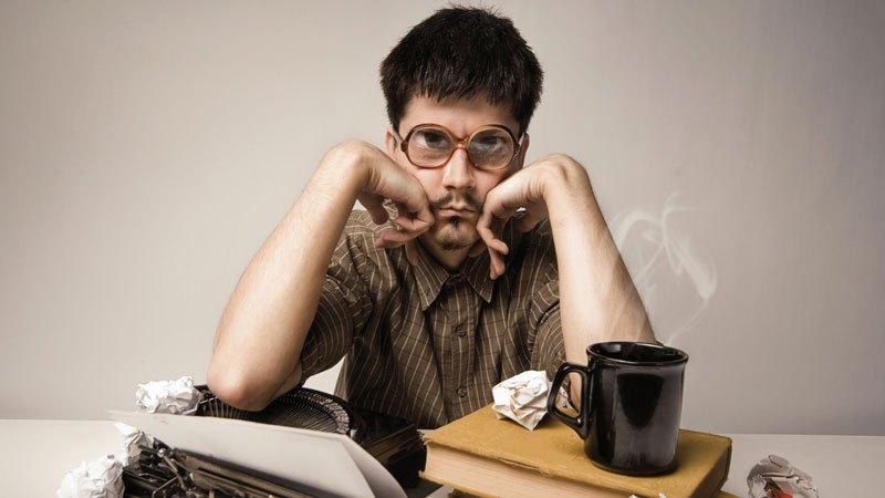 Мужчина в очках
