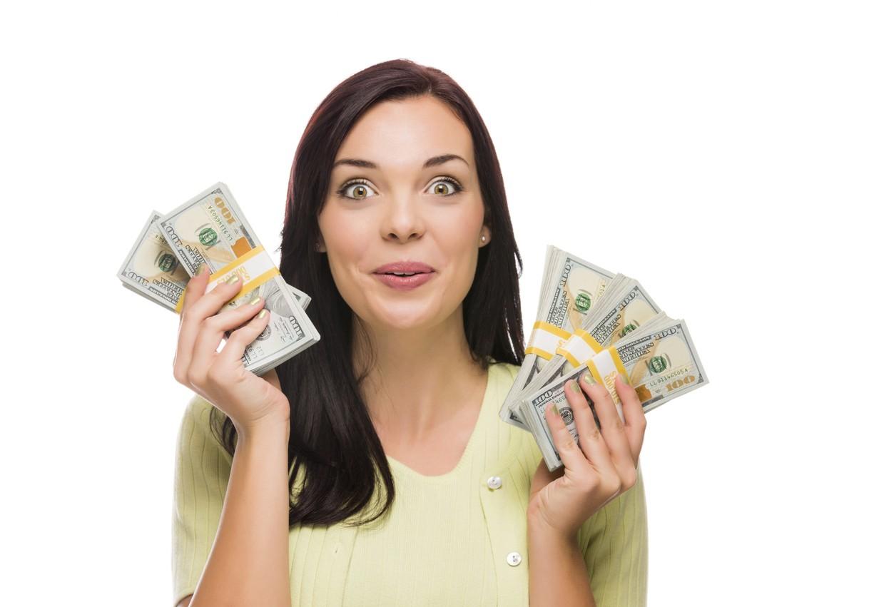 Картинки люди с купюрами денег