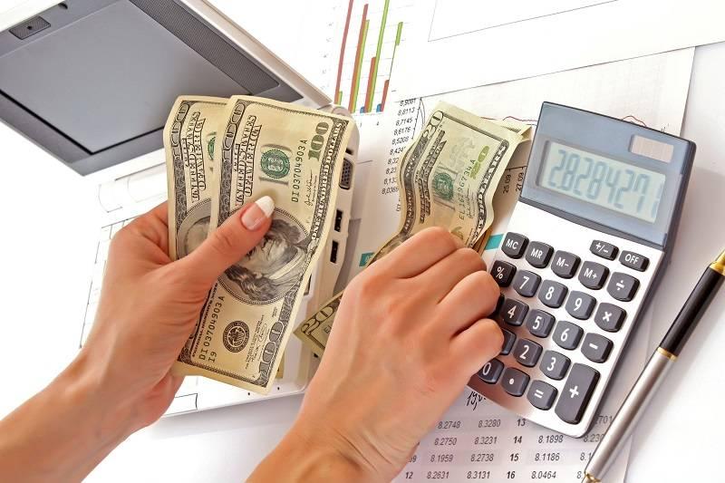 Калькулятор и доллары