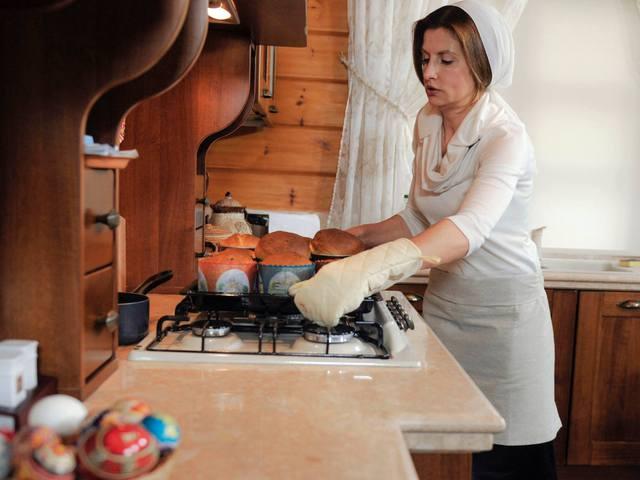 Женщина-повар