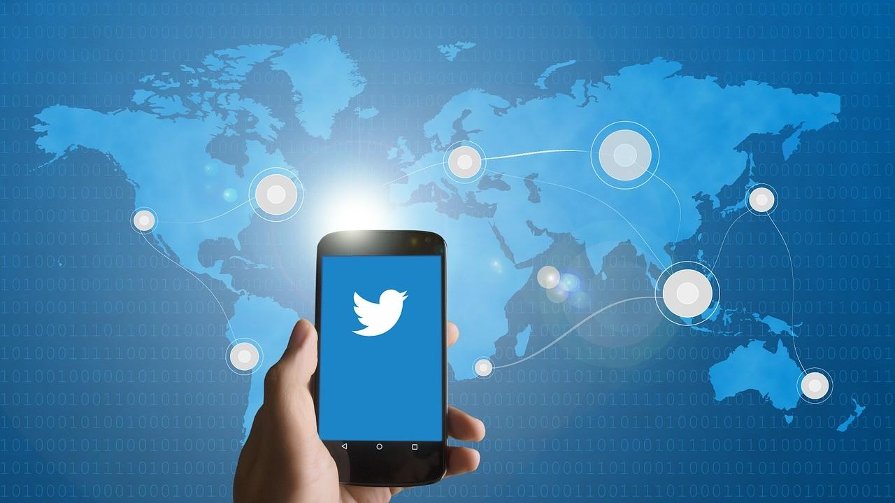 Значок Твиттера в телефоне