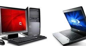 Компьютер и ноутбук